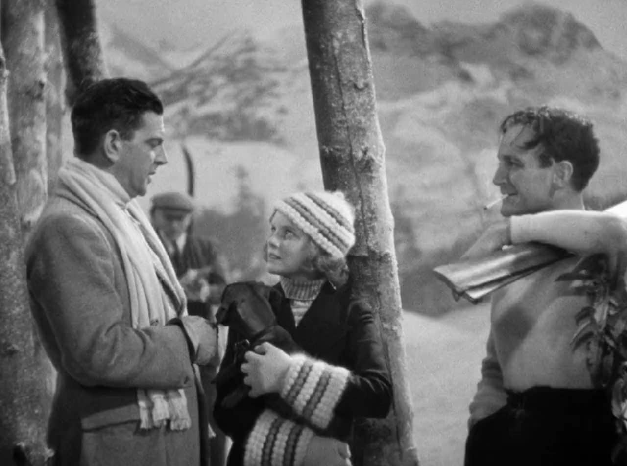 L-R: Leslie Banks, Nova Pilbeam and Pierre Fresnay in The Man Who Knew Too Much (1934)